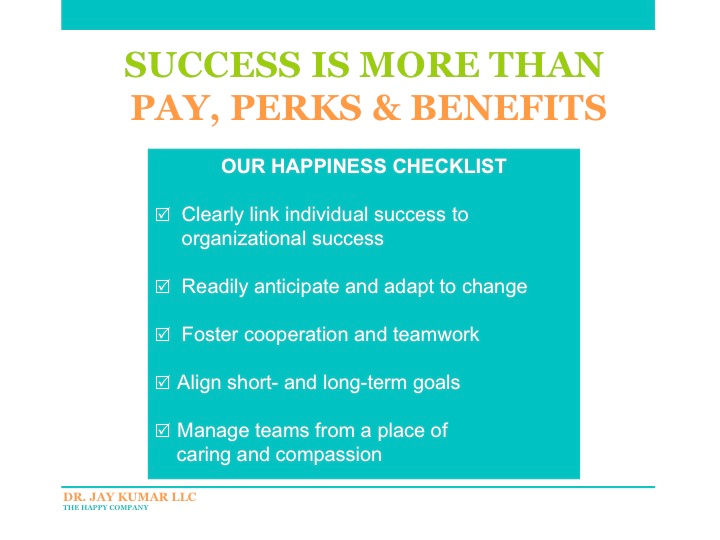 Our Happiness Checklist
